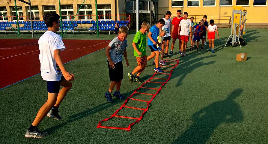 Trwają sportowe wakacje z UKS Sokół i ZSO Zator