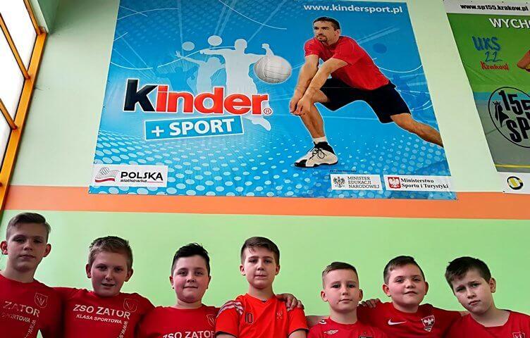 INAUGURACJA KINDER +SPORT 2018! Dobry start młodych zatorskich siatkarzy