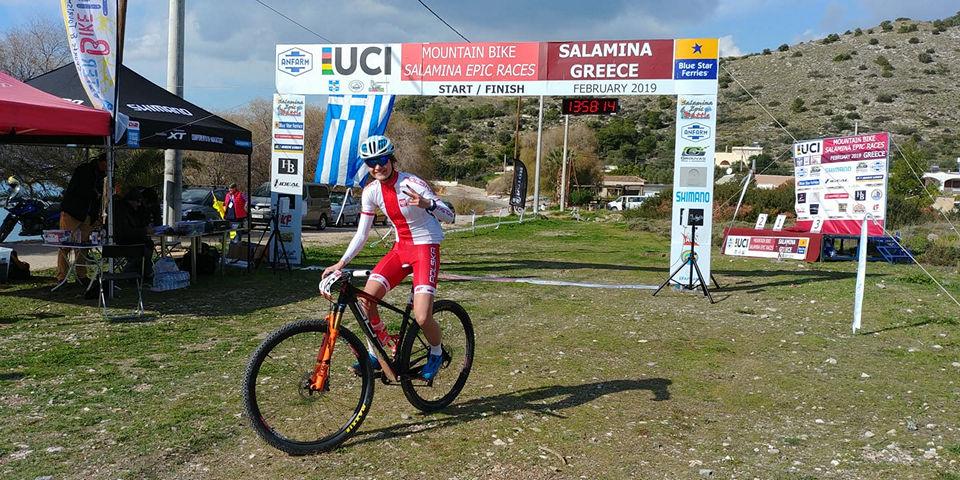"""Salamina Epic Races #1 – Gabriela Wojtyła kończy swą pierwszą """"etapówkę"""" w życiu."""